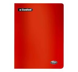 Standford Cuaderno Teen Book Rayas Rojo