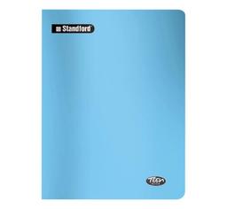 Standford Cuaderno Teen Book Rayas Celeste