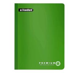 Standford Cuaderno Cosido Premium Kínder 2 x 2 Verde