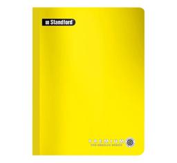 Standford Cuaderno Cosido Premium Kínder 2 x 2 Amarillo
