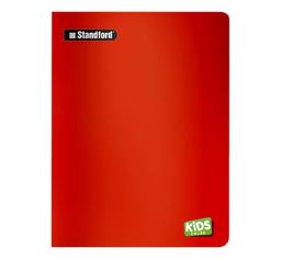 Standford Cuaderno Kids Color Doble Max Rojo
