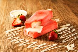 Fresa con Leche Condensada