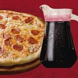 Combo Pizza Grande y Chicha Morada