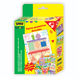 Uhu Pack Creativ Figuras Geométricas Divertidas