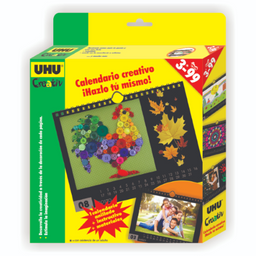 Uhu Pack Creativ Calendario Divertido