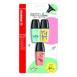 Stabilo Resaltador Mini Boss Pastel Tur/Ama/Dur