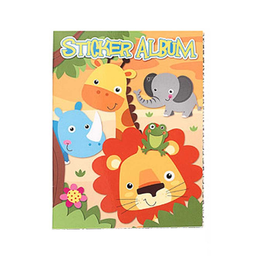 Album de Stickers Jungle