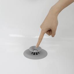 Umbra Tapón Para Tina Gris de Plástico