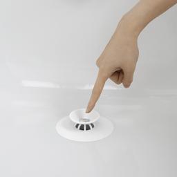 Umbra Tapón Para Tina Blanco de Plástico