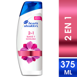 Sh/Ac H&S Suave Y Manejable 2En1 375Ml