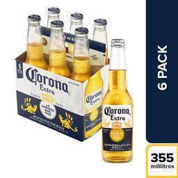 Corona Six Pack Botella 355Ml
