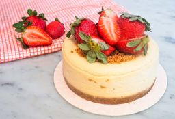 Mini Cheesecake de Fresas