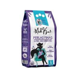 Mish Kat Alimento Para Gato Perlas Finas Absorbentes 5 Kg