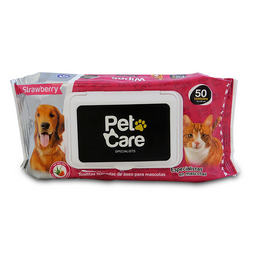 Pet Care Toalla Húmeda Refil Aroma Strawberry