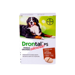 Drontal Ps Antiparasitario Para Perro 1 Tableta