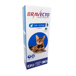 Bravecto Antiparasitario Para Gatos 2.8 Kg - 6.2 Kg