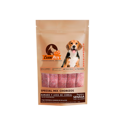 Carnipets Alimento Para Perro Special Mix Barf Chorizo 1 Kg