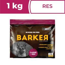 Barker Alimento Para Perro Barf Hamburguesas de Carne 1 Kg