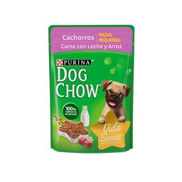 Dog Chow Alimento Para Perro Cachorro Carne y Leche 100 g