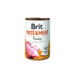 Brit Alimento Para Perro Pate & Meat Receta Pavo 400 g