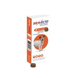 Bravecto Antipulgas Masticable Para Perro de 4.5-10 Kg 1 Tableta
