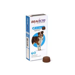 Bravecto Antipulgas Masticable Para Perro de 20-40 Kg 1 Tableta