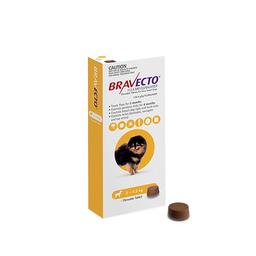 Bravecto Antipulgas Masticable Para Perro de 2-4.5 Kg 1 Tableta