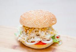 Sándwich Pollo Deshilachado