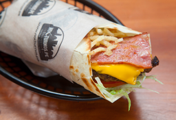 Wrap BBQ Bacon Cheese