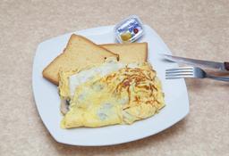 Omelette de Champiñones y Quesos