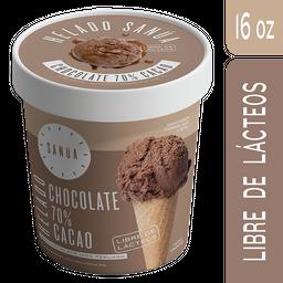 Sanúa Helado Vegano - 70% Cacao