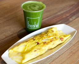 Omelette Americano + Bebida