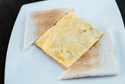 Omelette Peruano con Jamón Ahumado