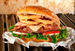Hamburguesa Cheddar BBQ