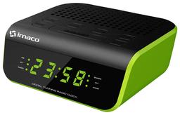 Imaco Radio Reloj Despertador Verde CR2060V