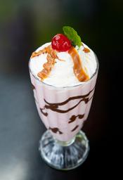 Milkshake De Fresa