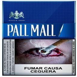 Pall Mall Blue Rojo 20 unidades