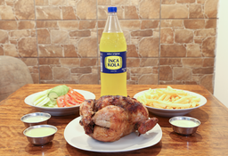 Pollo Entero con Gaseosa