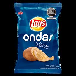 Pasabocas Papas Lay's Ondas Saladas Bolsa 150g