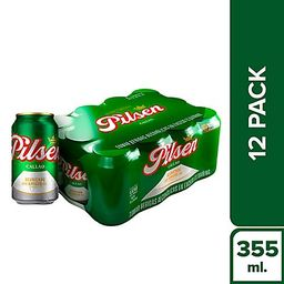 Cerveza Pilsen Callao Pack X12 Lta 355Ml