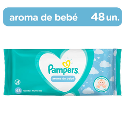 Pampers Toallas Húmedas Aroma Bebé