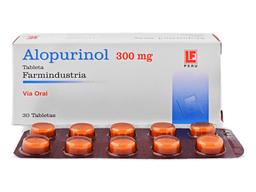 Alopurinol Tabletas