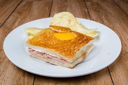 Sándwich Mixto Completo (Pan Molde)