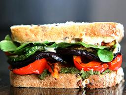Sándwich de Vegetales Grillados
