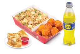Chinabox Honey Chicken + 3 Wantanes