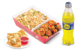 Chinabox Mandarin Chicken + 3 Wantanes