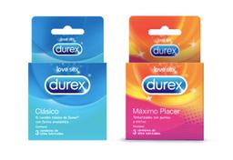 Durex Clasico + Máximo Placer
