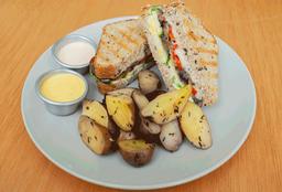 Sandwich Mediterráneo + Limonada de Menta