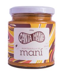 Mantequilla De Mani 100% Natural 230 Gramos