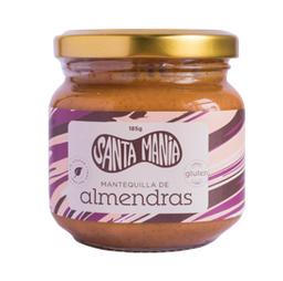 Mantequilla De Almendras 100% Natural 185 Gramos